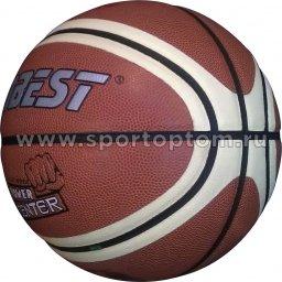 Мяч баскетбольный №7 DOBEST (PU) 886 PK  Коричнево-белый