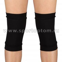 Наколенник для гимнастики и танцев INDIGO SM-113 M Черный