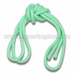 Скакалка гимнастическая (веревочная) Утяжеленная INDIGO ЛЮРЕКС (1)