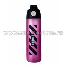 Бутылка для воды   YY-5006 700 мл Розово-черный