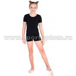 Шорты гимнастические детские  INDIGO SM-127 Черный (1)