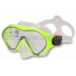 Маска для плавания  INDIGO MERO  детская IN060 Зеленый