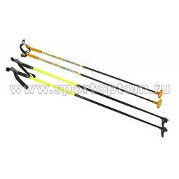 Палки лыжные стеклопластиковые  SP-59 1,35 м Черный