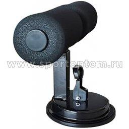 Тренажер для отжима и пресса INDIGO SIT UP BAR вакуумный IN148 Черный