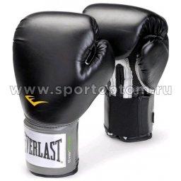 Перчатки боксёрские EVERLAST Pro Style Anti-MB PU  2312U 12 унций Черный