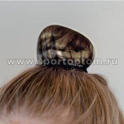 Сеточка для волос INDIGO SM-330              11 см Черный