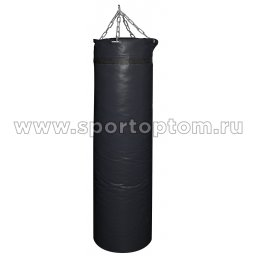 Мешок боксерский SM 75кг на цепи (армированный PVC) SM-240 75 кг Черный
