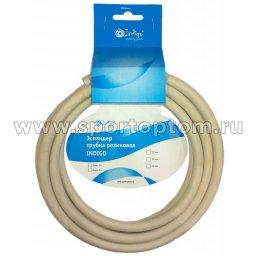 Эспандер трубка резиновая INDIGO SM-076 5м*8мм Серый