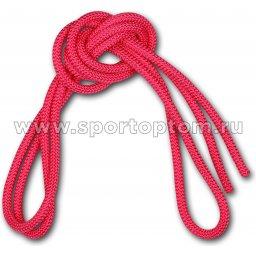 Скакалка для художественной гимнастики Утяжеленная 165 г AMAYA соревновательная 3403000 3 м Фуксия