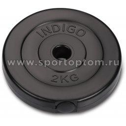 Диск пластиковый 26 мм INDIGO IN123 2 кг Черный