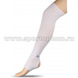Гетры для гимнастики и танцев INDIGO Компрессионные ЛВ3 Белый