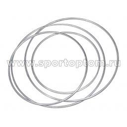 Обруч гимнастический алюминевый 360г AN-16                     900 мм Серый