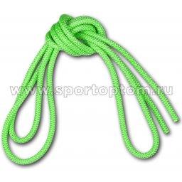Скакалка для художественной гимнастики Утяжеленная 165 г AMAYA соревновательная 3403000 3 м Флуоресцентный зеленый