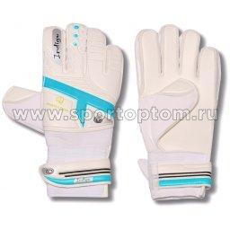 Перчатки вратарские INDIGO  200007 5 Бело-голубой