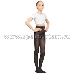 Колготки детские для танцев и балета HAIDI 90 den КХ Черный