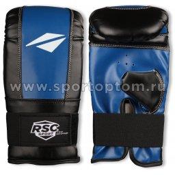 Перчатки снарядные RSC PU  BF BX 102 S Синий