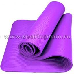 Коврик для йоги и фитнеса INDIGO NBR IN104 173*61*10 мм Сиреневый