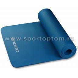 Коврик для йоги и фитнеса INDIGO NBR IN104 173*61*1 см Синий