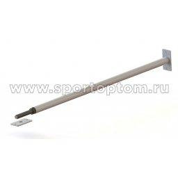 Турник в проем резьбовой Прогресс-4 до 130 кг ТРР105-115 SP 105-115 см Белый