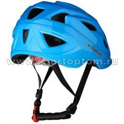 Вело Шлем детский INDIGO 16 вент. отверстий IN073 Синий (2)