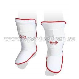 Защита голени и стопы с футой PENNA х/б+эластан PSS-462 Белый