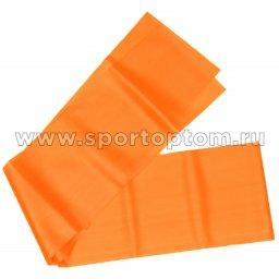 Эспандер ленточный INDIGO MEDIUM (ТПЭ) 97627 IR 1,5м*15см*0,45мм Оранжевый
