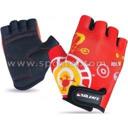 Перчатки вело детские Винтик INDIGO  SB-01-8825 Красный