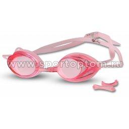 Очки для плавания INDIGO  1005 G Розовый
