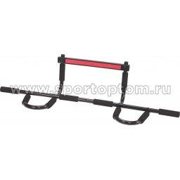 Турник навесной в дверной проем Pro Supra до 90 кг  330-DY 92 см Черный