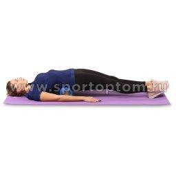 Ролик массажный для йоги INDIGO PVC IN077 (5)