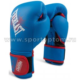 Перчатки боксёрские детские EVERLAST PROSPECT PU  P00001644 Синий