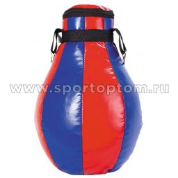 Груша боксёрская SM (армированный PVC) SM-230 12 кг Сине-красный