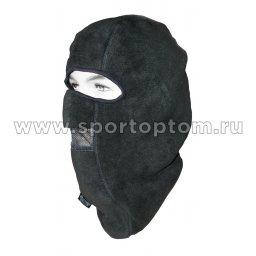 Шапка-маска CAP-MASK-FL-2-BL флис 2 отв. + сетка чёрн. 0918-19 TR XL Черный