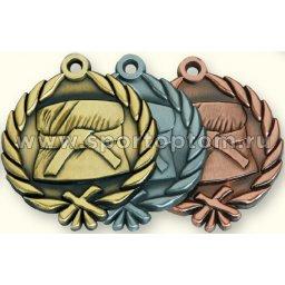 Медали INDIGO Карате d48мм к-т 3шт: золото, серебро, бронза 480003 ZS                 48 мм