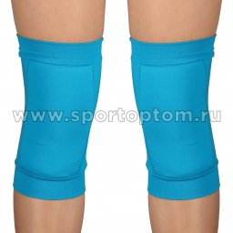 Наколенник для гимнастики и танцев INDIGO SM-113 Бирюзовый