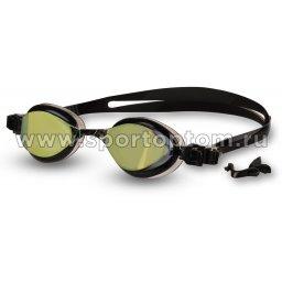 Очки для плавания BARRACUDA FENIX MIRROW сменная переносица 72710  Золотой-черный