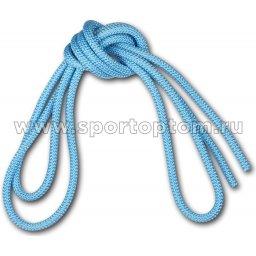 Скакалка для художественной гимнастики Утяжеленная 165 г AMAYA соревновательная 3403000 3 м Голубой