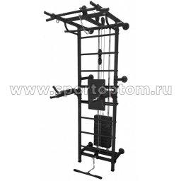 СК Крафт пристенный со складными брусьями ССК К12 2450*1140*690 мм Черный