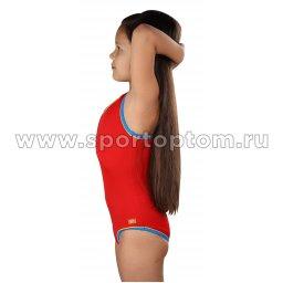 Купальник для плавания совместный детский SHEPA 001 Красный (3)