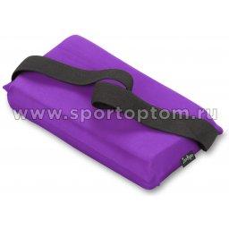 Подушка для растяжки INDIGO  SM-358 24,5*12,5 см Фиолетовый
