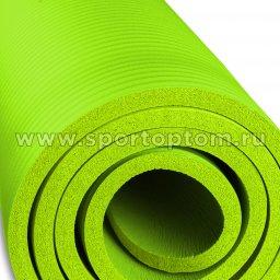 Коврик для йоги и фитнеса INDIGO NBR IN104 Зеленый (4)