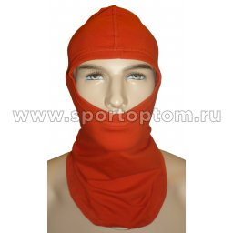 Шапка-маска Балаклава SM, 1отв.(х/б 92%,лайкра 8%) SM-168 Красный