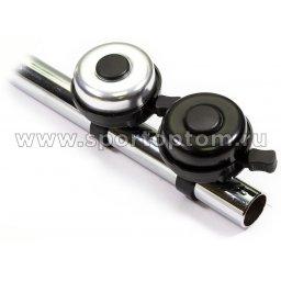 Вело Звонок   XN-4-20 Черно-серебристый