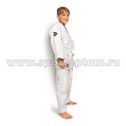 Кимоно  дзюдо 0/120 Green Hill JUNIOR хлопок куртка 350г/м2,брюки 180г/м2  JSJ-10226 0/120 Белый