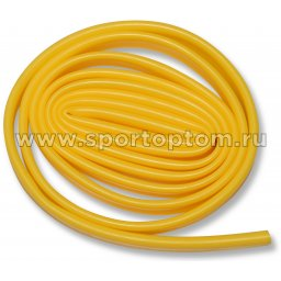Эспандер трубка латексная INDIGO 209 HKCE 2,5м*20мм Желтый
