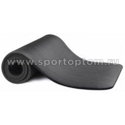 Коврик для йоги и фитнеса INDIGO NBR IN104 173*61*10 мм Черный