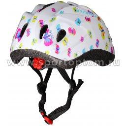 Вело Шлем детский INDIGO IN072  BUTTERFLY 10 вент. отверстий (2)