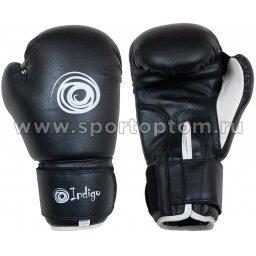 Перчатки боксёрские INDIGO PU PS-790 Черный