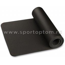 Коврик для йоги и фитнеса INDIGO NBR IN229 173*61*1,2 см Черный