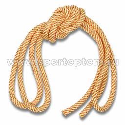 Скакалка гимнастическая (веревочная) Утяжеленная INDIGO ЛЮРЕКС (3)